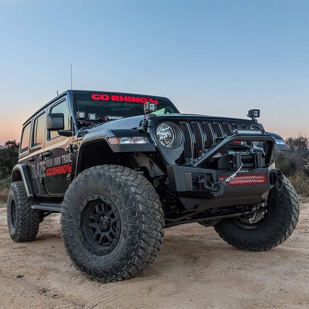 Jeep Wrangler Black Matte >> BLACK RHINO BARSTOW[Matt Black] | BG World Wheels