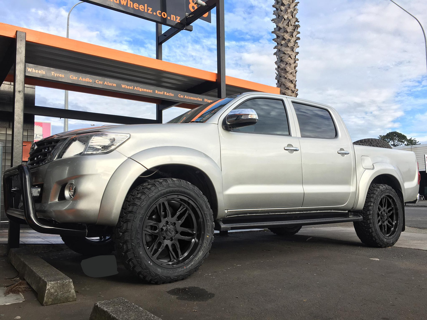 BGW Lethal on Toyota Hilux