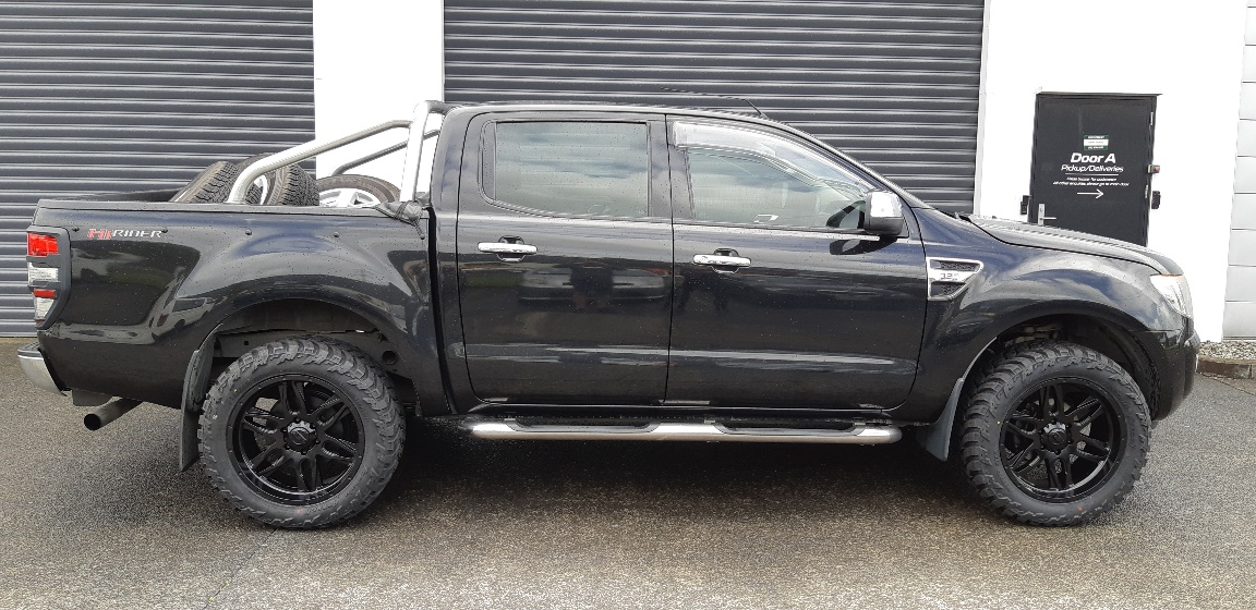 Ford Ranger on BGW Lethal