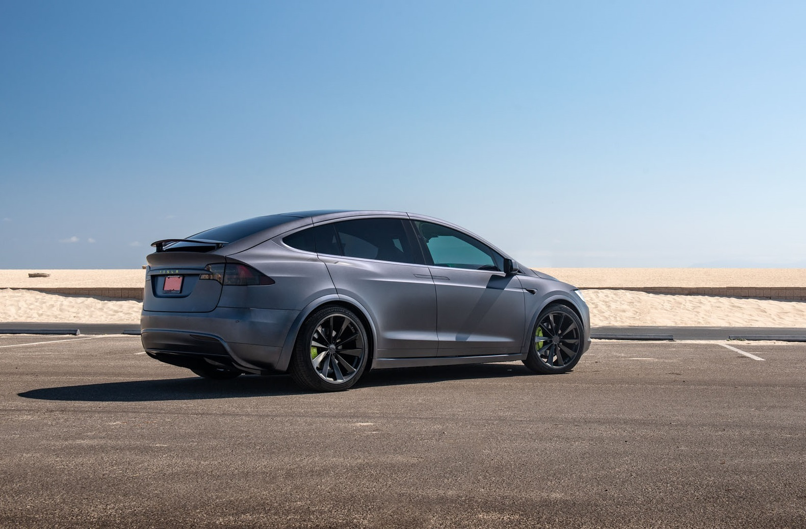 Tesla Model X on TSW Aileron