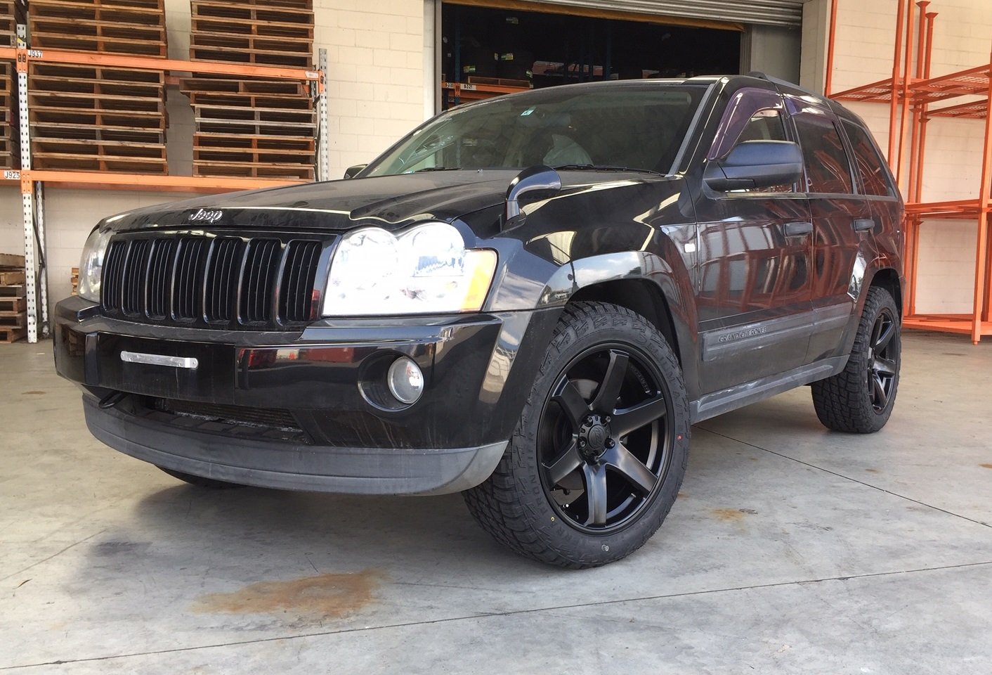 Jeep Grand Cherokee on BGW Beast