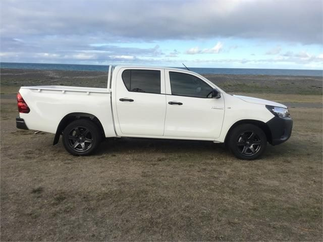 Toyota Hilux 2WD Workmate on BGW Beast