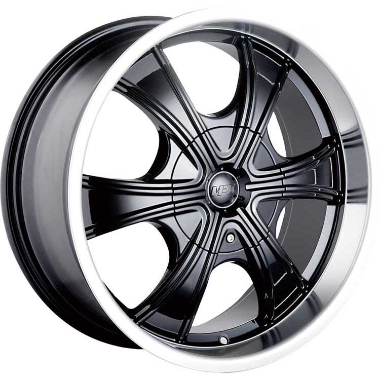 Chrysler Pacifica Rims For Sale: MPW MP210[Gloss Black W/Machined Lip]