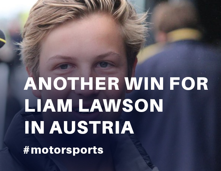 Another win for Lawson in Austria