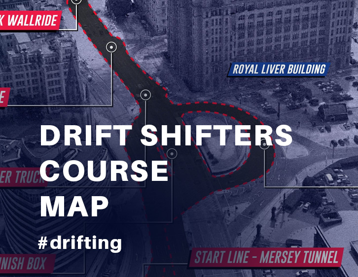 Drift Shifters Course Map