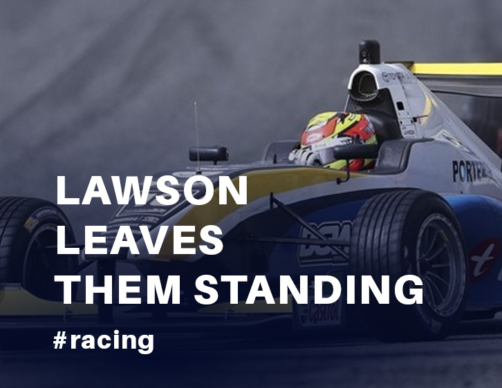Lawson leaves them standing