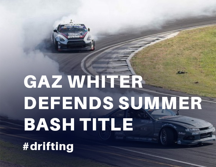 Gaz Whiter defends Summer Base Title