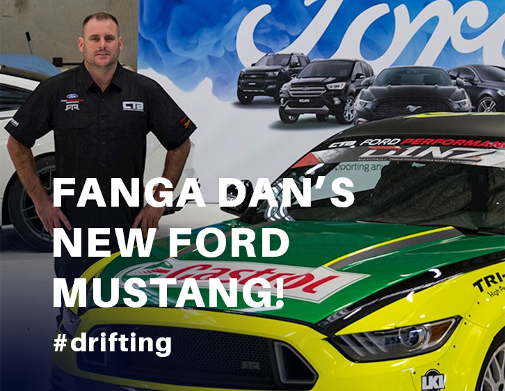 Fanga Dan Releases the new Ford Mustang